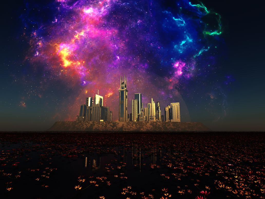 Bubble City 2016 by Stargem