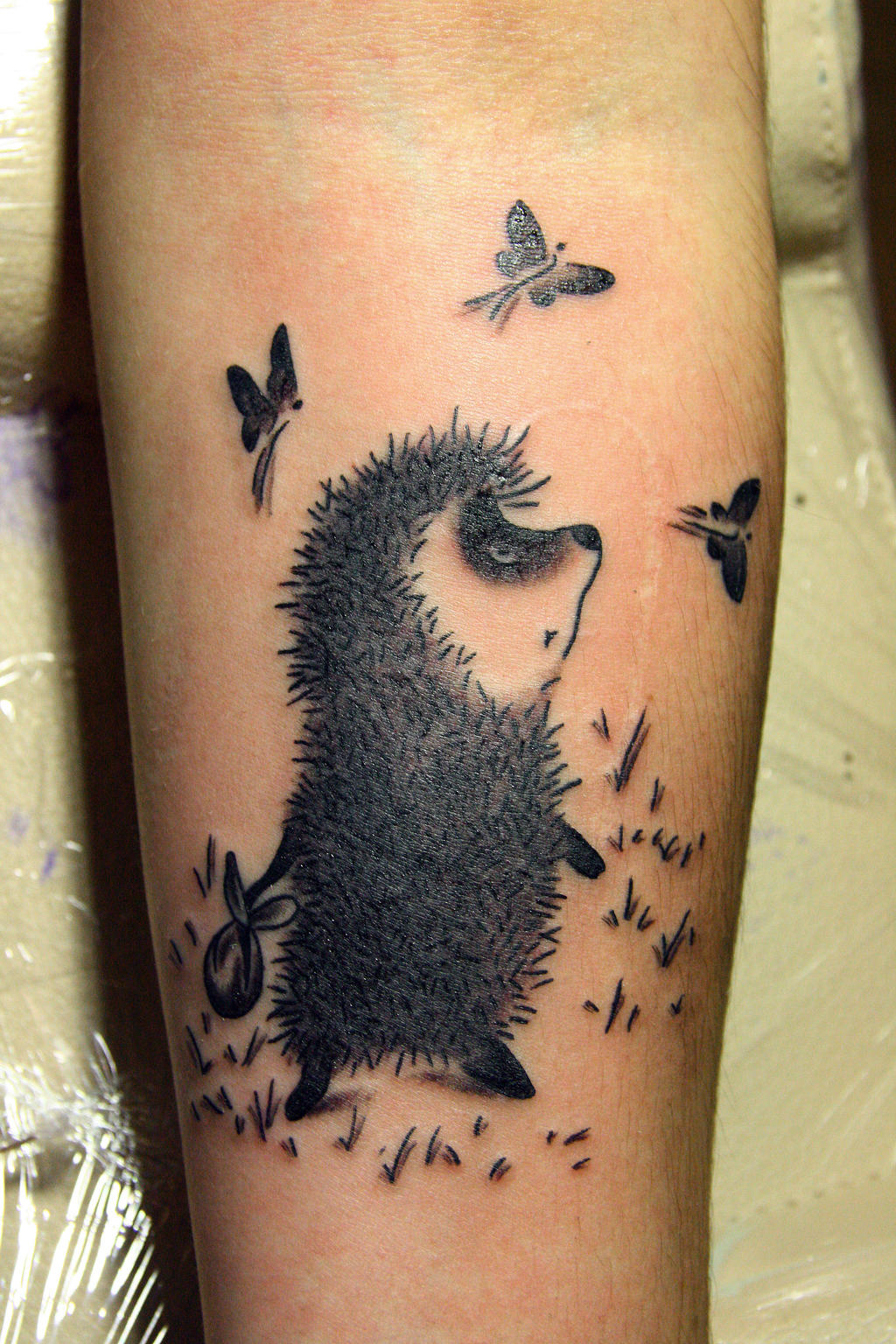do you have any hedgehog tattoos? i scrolled... / 1337tattoos