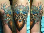 ornamental deer