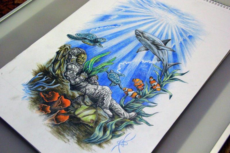 underwater World by NikaSamarina on DeviantArt