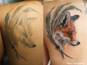 fox by NikaSamarina