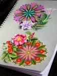 mandalas and plants