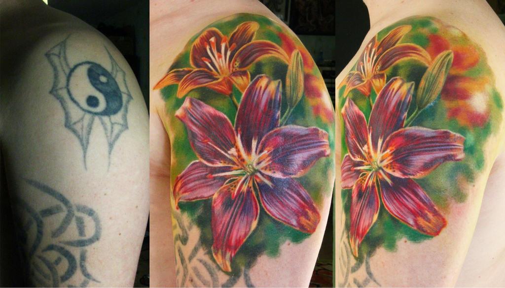 lilies by NikaSamarina
