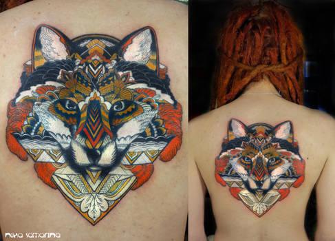 fox tattoo