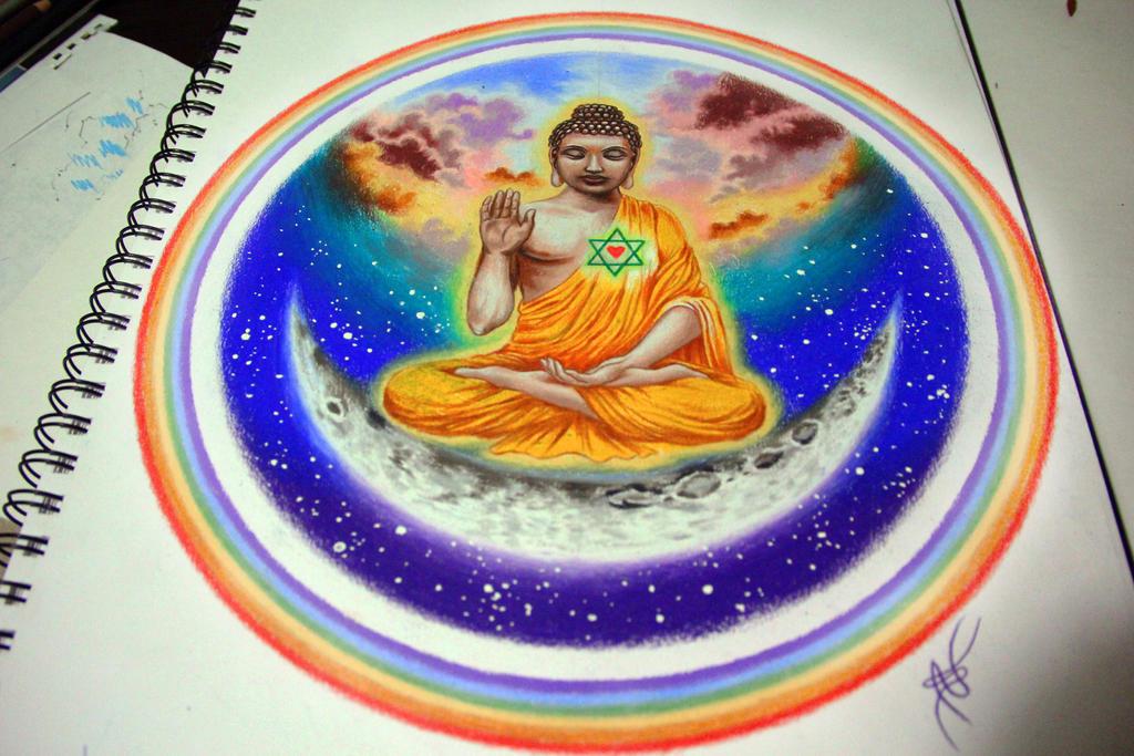 buddha by NikaSamarina