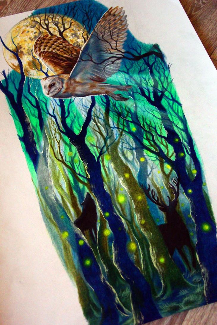 magic forest by NikaSamarina