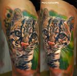 ocelot tattoo