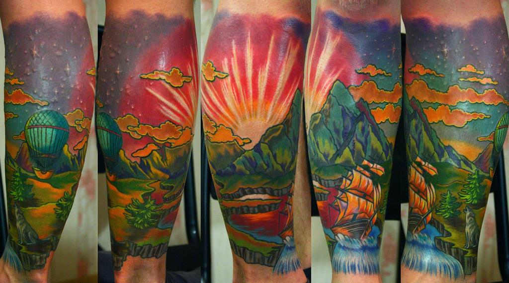 trip tattoo by NikaSamarina