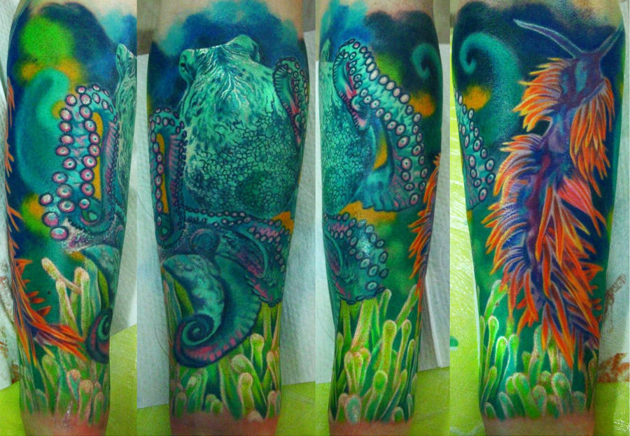 underwater sleeve in progress by NikaSamarina