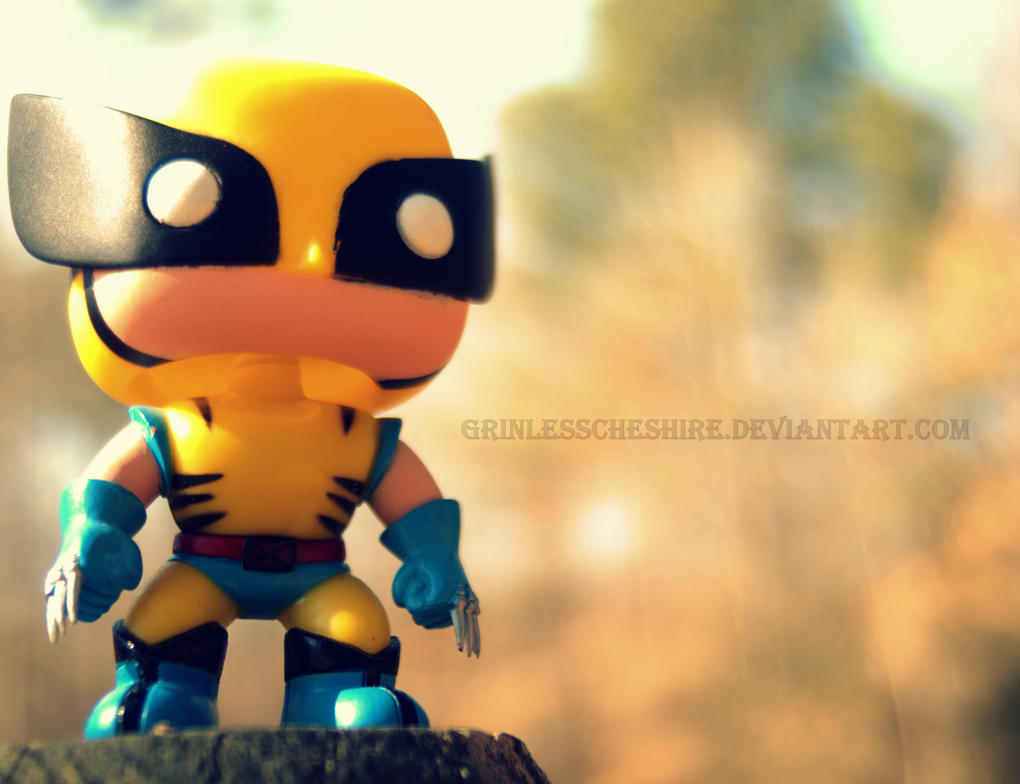 Chibi Wolverine by PixiePoxPhotography