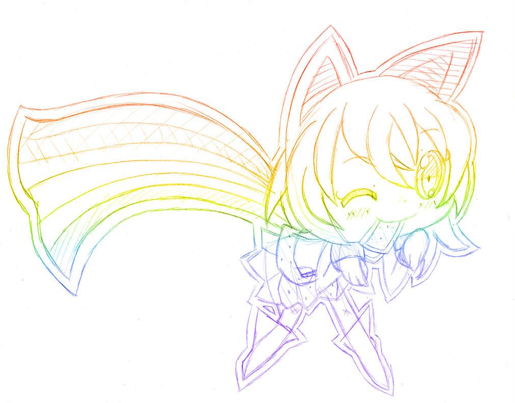 WIP: Nyan Chan by Katsumimi
