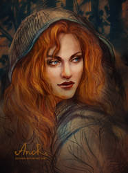 Triss Merigold by JustAnoR