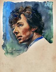 Sherlock by JustAnoR