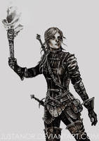 TWH - Cirilla by JustAnoR