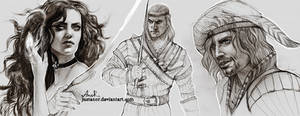 Sketches witcher