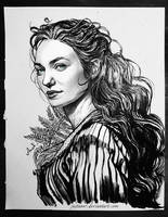 Demelza (Eleanor Tomlinson) by JustAnoR