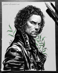 Ross (Aidan Turner) by JustAnoR