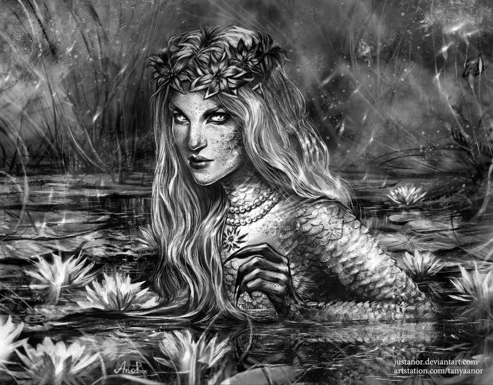 The Water Nymph by JustAnoR