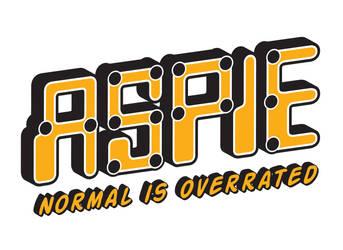 Aspie - T-Shirt Design by Celebanna