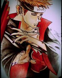 Pain Yahiko by FarazQureshi