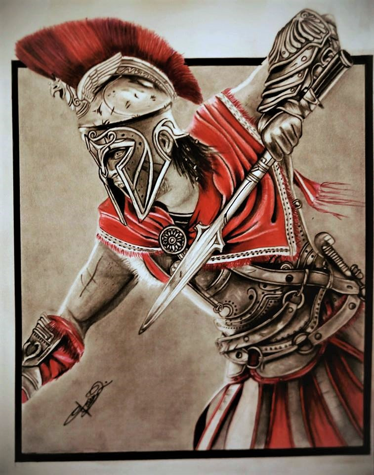 Alexios Assassin S Creed Odyssey By Farazqureshi On Deviantart