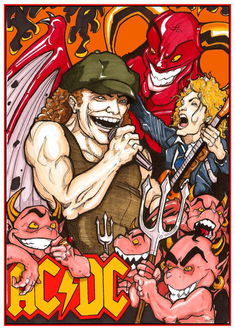AC-DC Rock Devil by wotnip