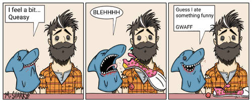 Mr Sharky - Funny by wotnip