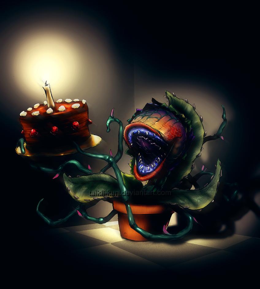 Audrey Ross Cake Artist : Audrey II Cake by taikii-kun on DeviantArt