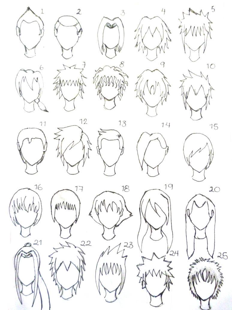 Hairstyles (For Men) By Nee-san-Dango On DeviantArt