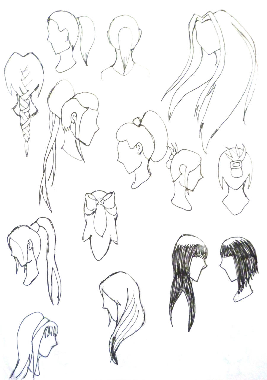 More Hairstyles For Women By Nee San Dango