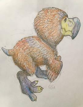 Baby Dodorex Sketch