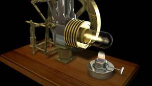 Stirlingmotor by DeepestOfBlue