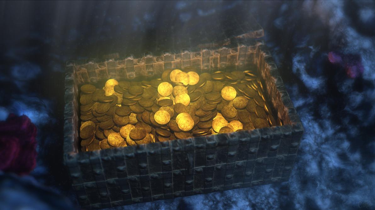Sunken Treasure by DeepestOfBlue