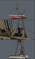 Steamboat WIP by DeepestOfBlue
