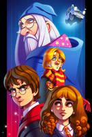 Harry's Wondrous World by ubegovic