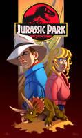 Jurassic Park: the Sick Trike by ubegovic