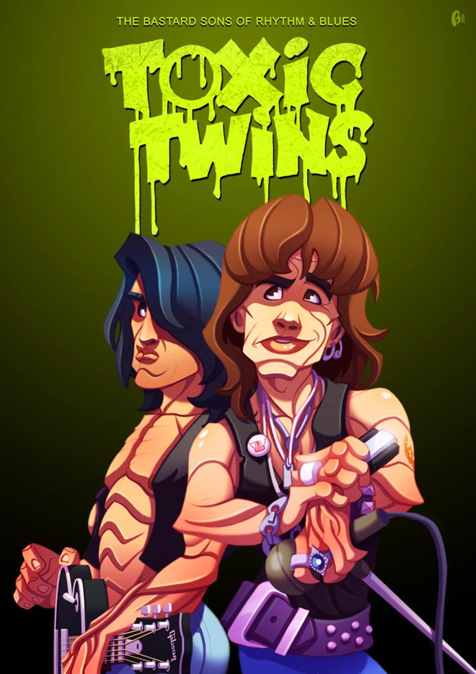 Aerosmith: Toxic Twins by ubegovic