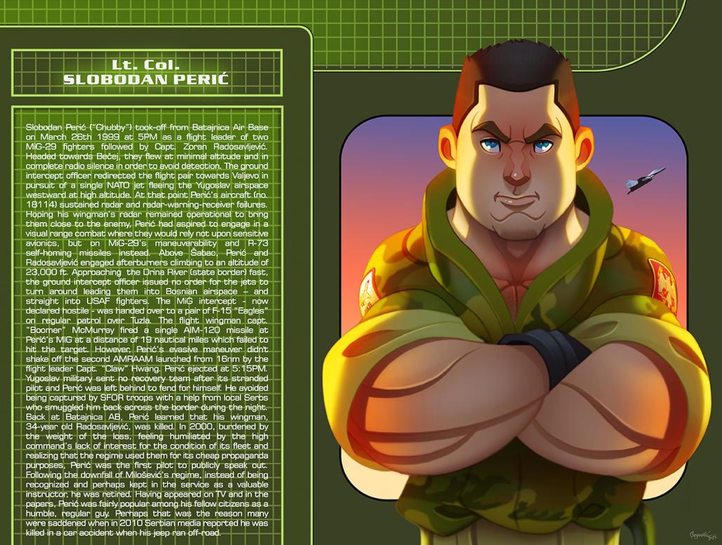 Lt. Col. Slobodan Peric ''Buca'' by ubegovic