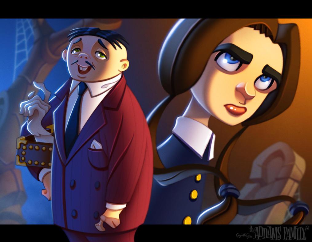 Addams Family by ubegovic