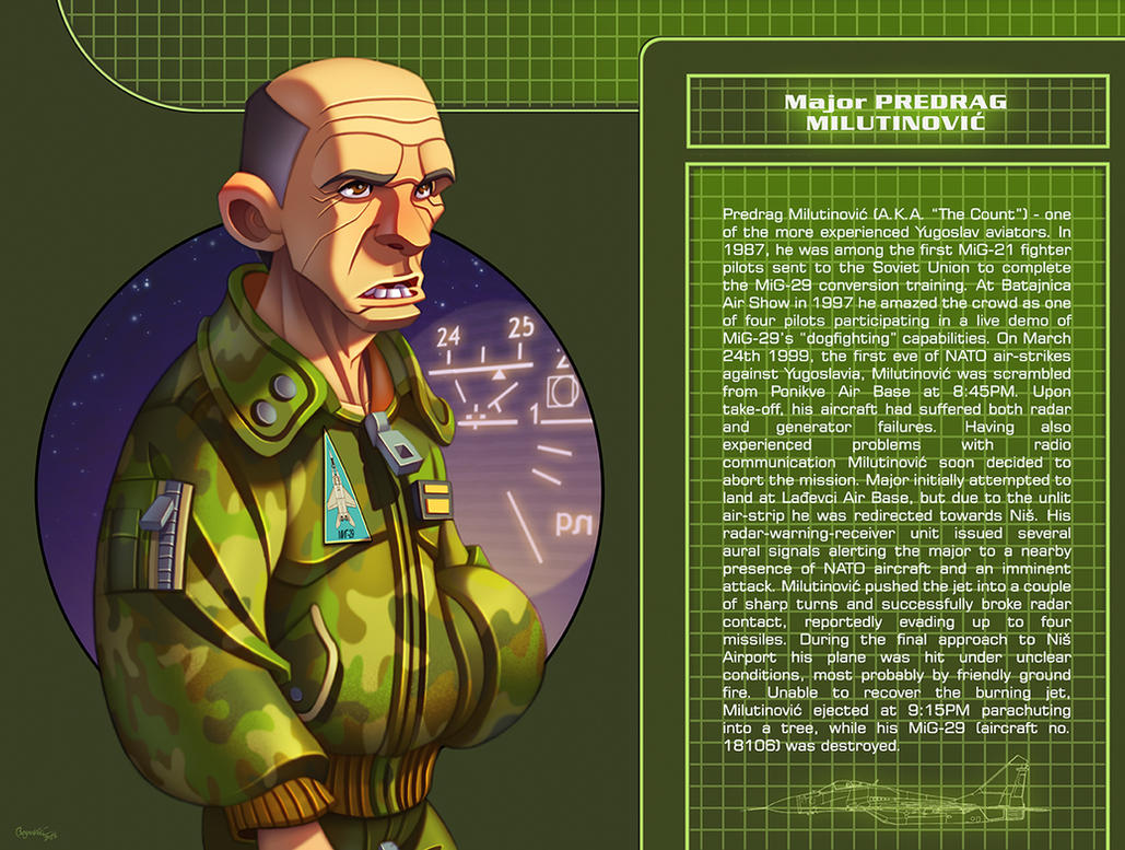 Maj. Predrag Milutinovic ''Grof'' by ubegovic