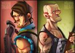The Walking Dead: Dixon Bros.