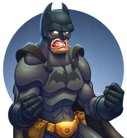 The Dark Knight by ubegovic