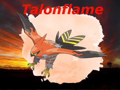Talonflame by PokeWaffle