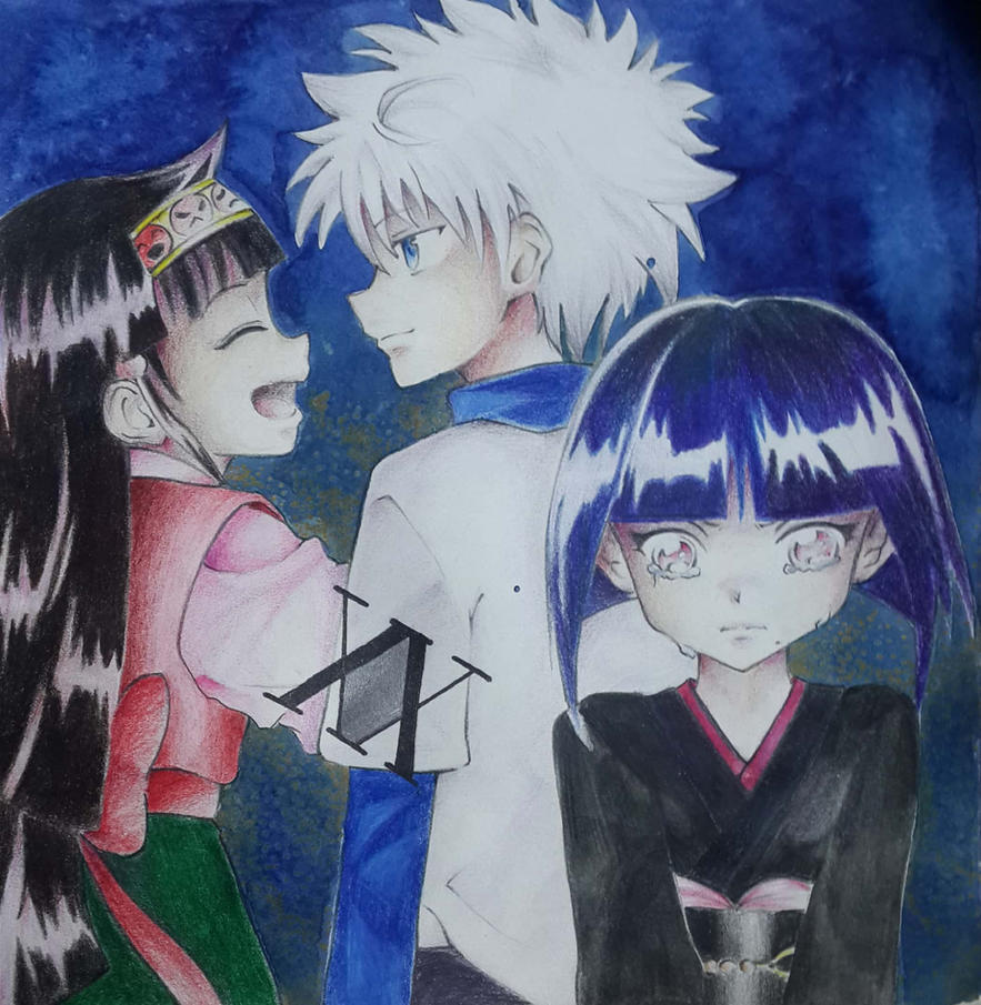 Kalluto wants Killua to take care of him too! by Aria-project