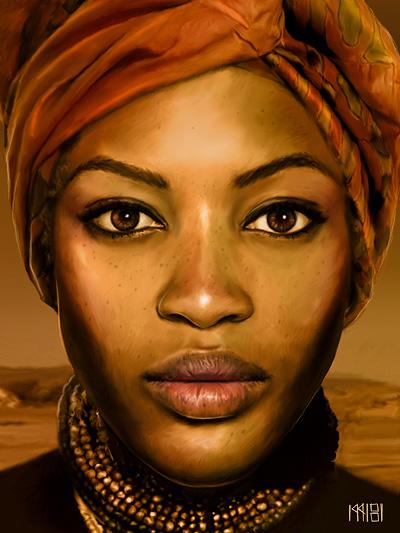 A Woman by cyzeal
