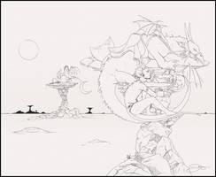 Dragon Tamer by cyzeal