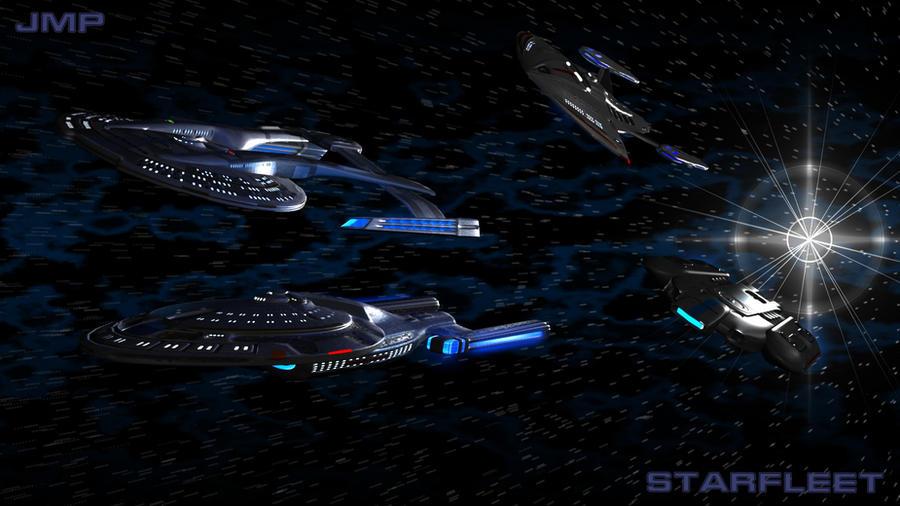 Star Trek poster by JMP-Snowman