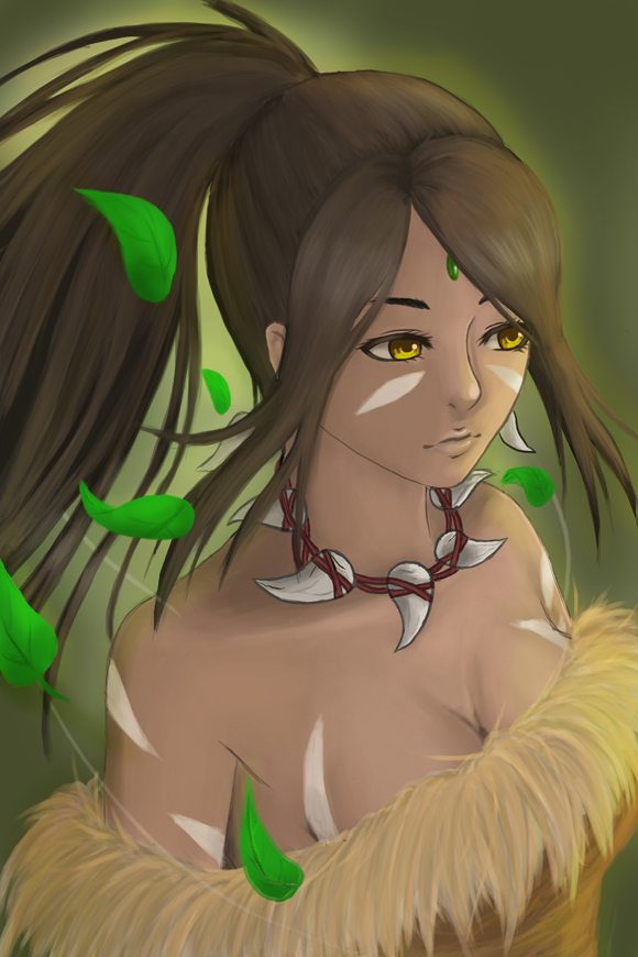 Nidalee by ArchillDraws