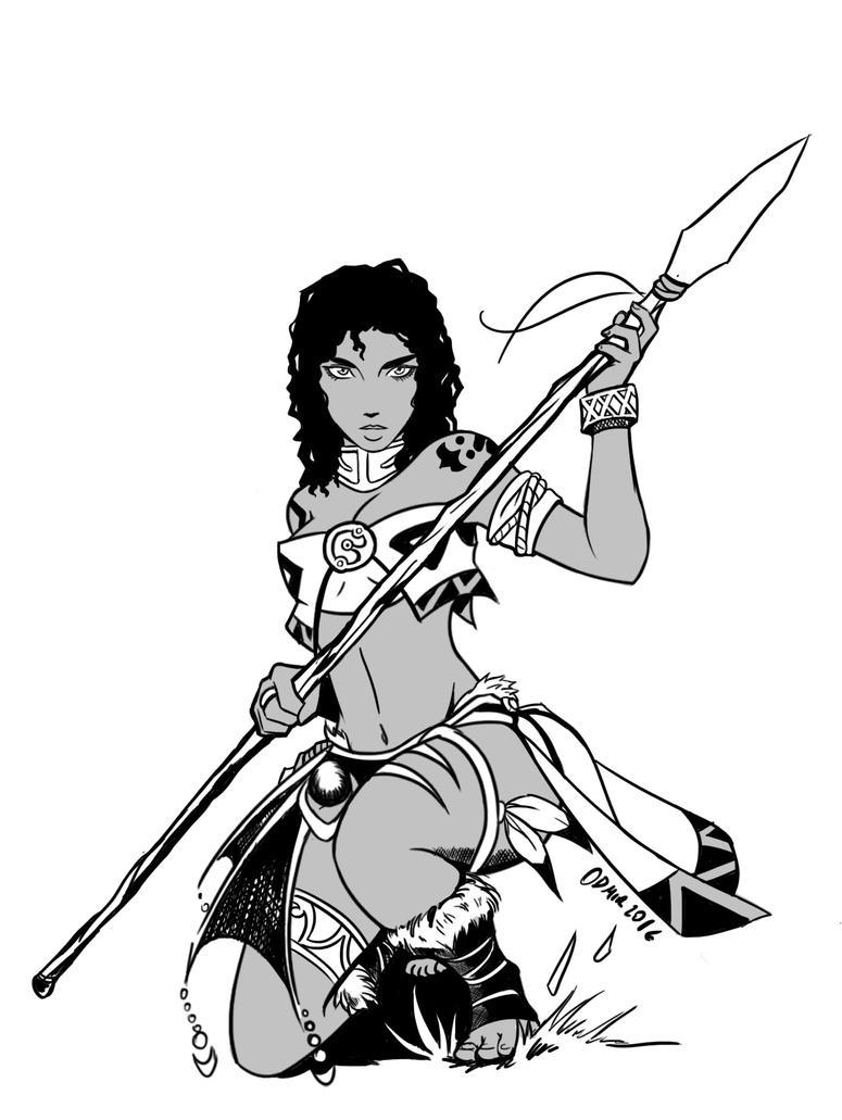 Original character: Rei by ODesigner