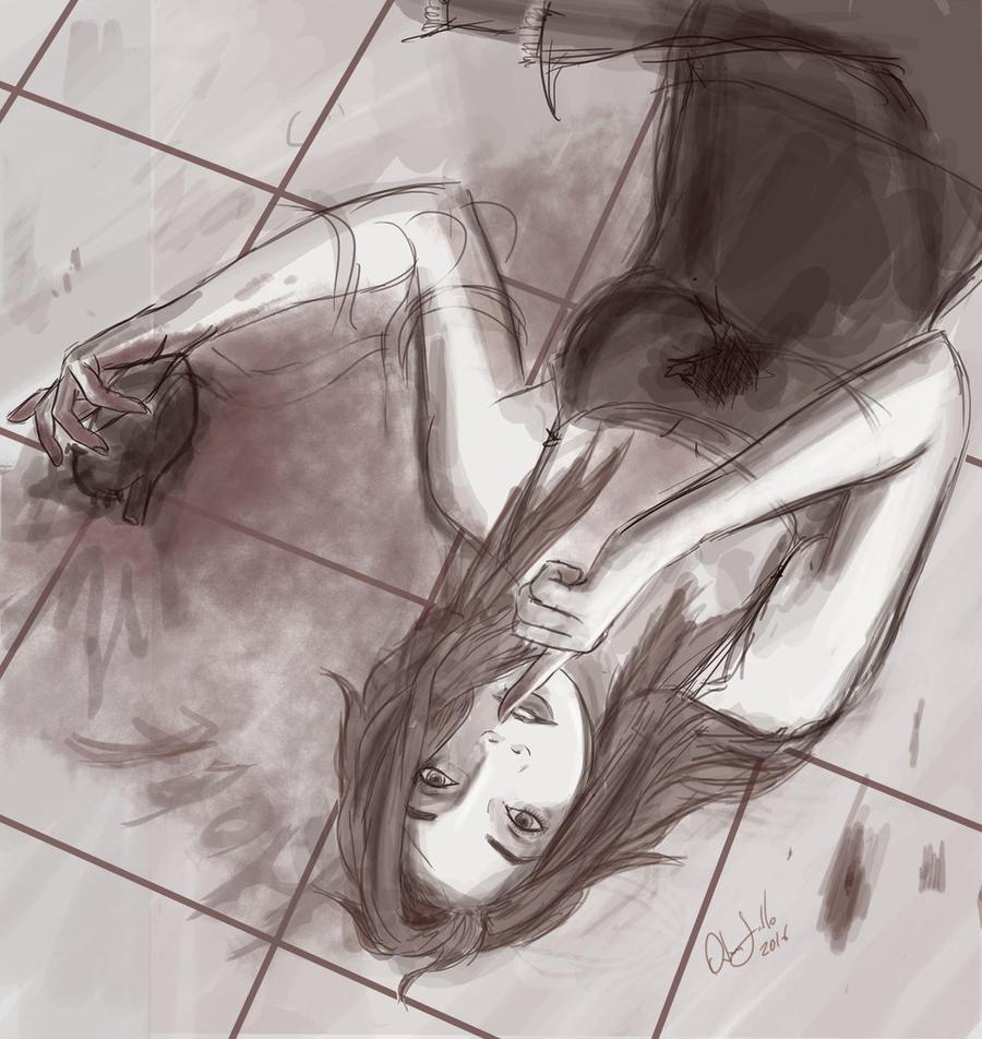 Sketch: Keep a secret? by ODesigner